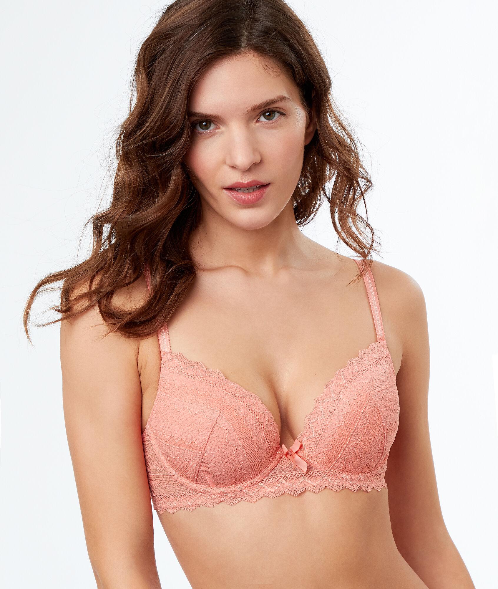 949bbf910d789 Bra No. 1 - Lace push-up bra - Etam