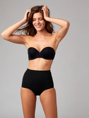 High waist briefs - level 3: figure shaping black.
