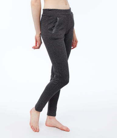 Ultra soft lined homewear trousers gray.