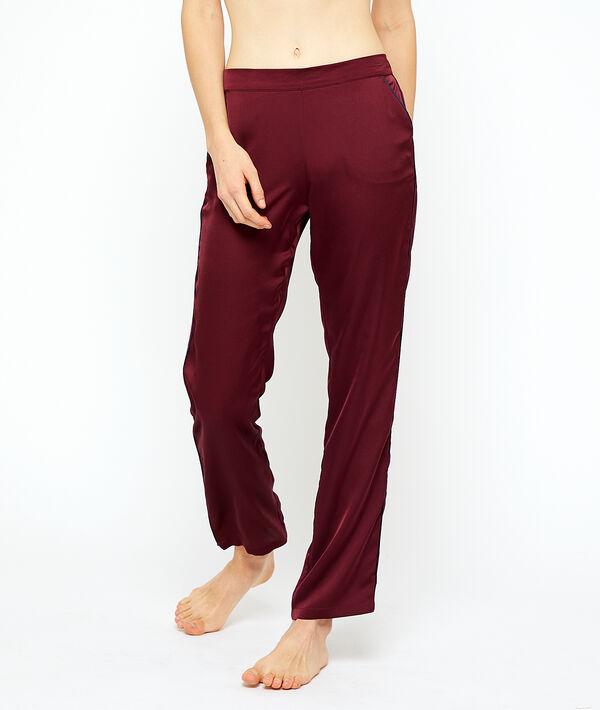 Satin trousers;${refinementColor}