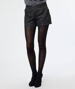 Jacquard shorts black.