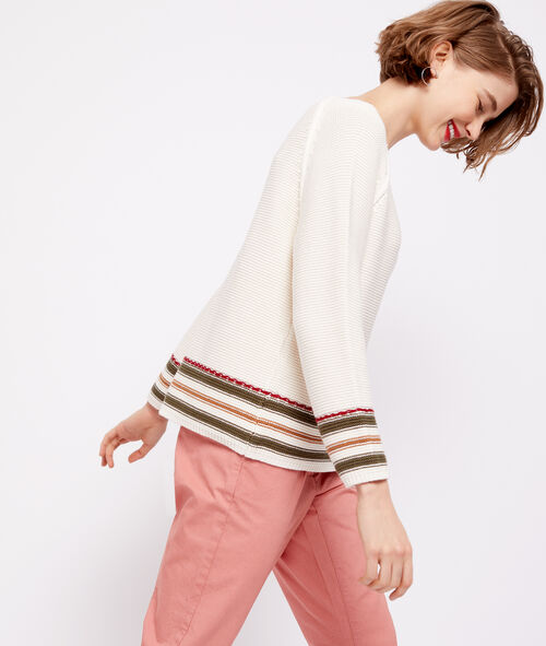 100% cotton knitted jumper