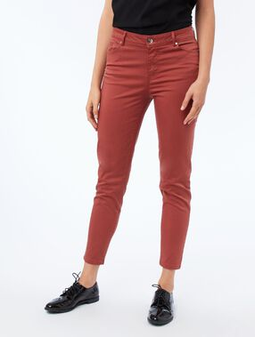 Slim-fit trousers ginger.