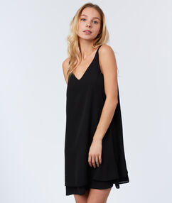 Cami dress black.
