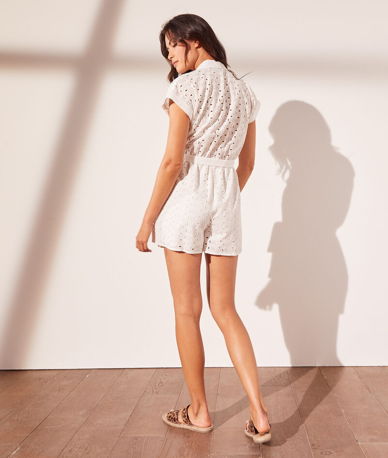 English embroidery playsuit