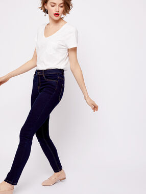 Slim jeans raw blue.