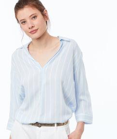 Shirt light blue.