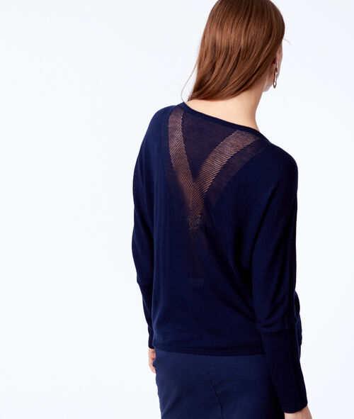 Knit long sleeve jumper