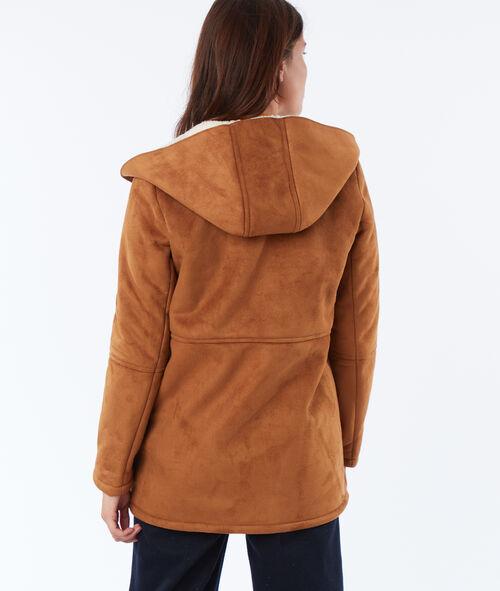 Borg hooded jacket