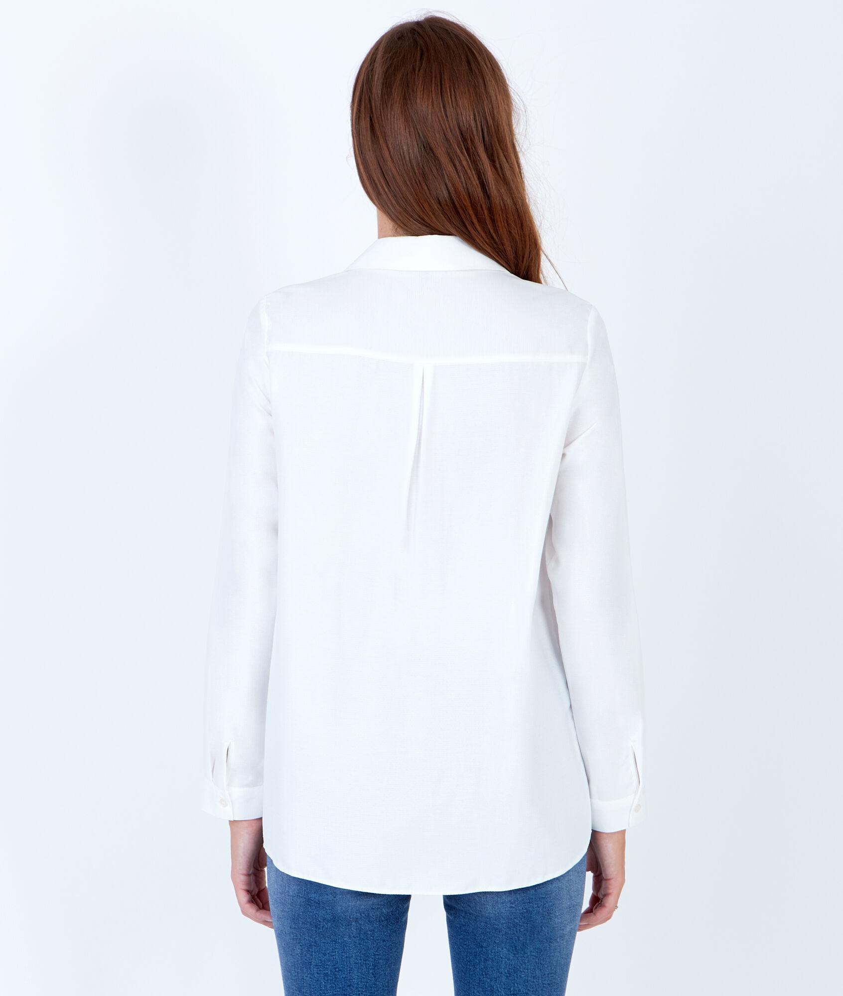 Long sleeve shirt - KELLY - WHITE - Etam e874d4cdbd1