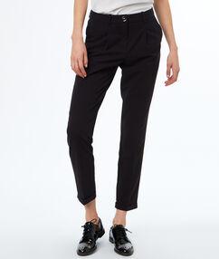 Cigarette pants black.