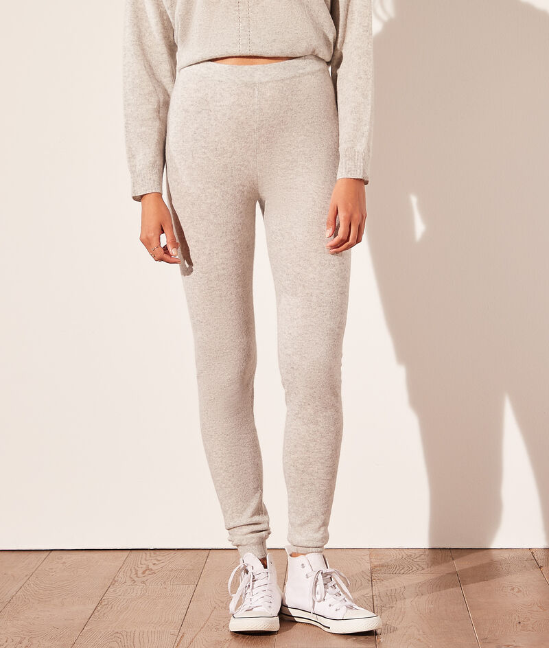 Pantalon jogger en cachemire