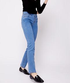 Straight-leg jeans indigo.
