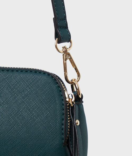 Two-tone messenger bag