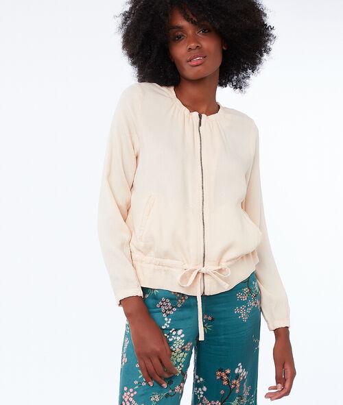 Tencel® zipped jacket