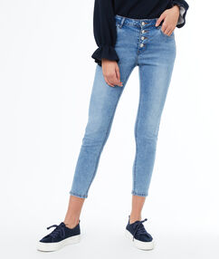 Skinny jeans midwash blue.