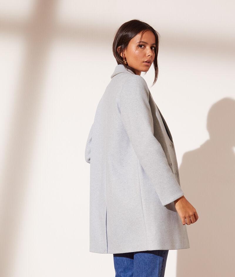 Straight cut coat