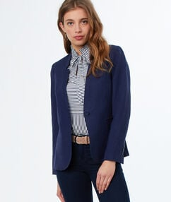 Suit jacket navy blue.