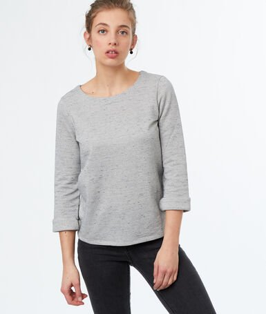 Sweatshirt light grey.