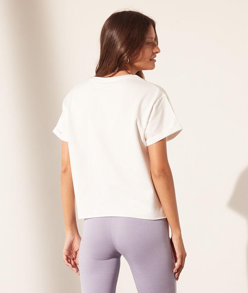 "T-shirt col rond ""Womanhood"""