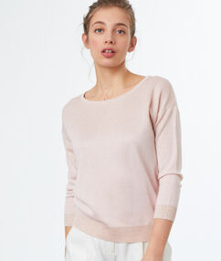 Sweater light pink.