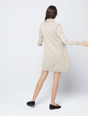 Long cardigan beige.