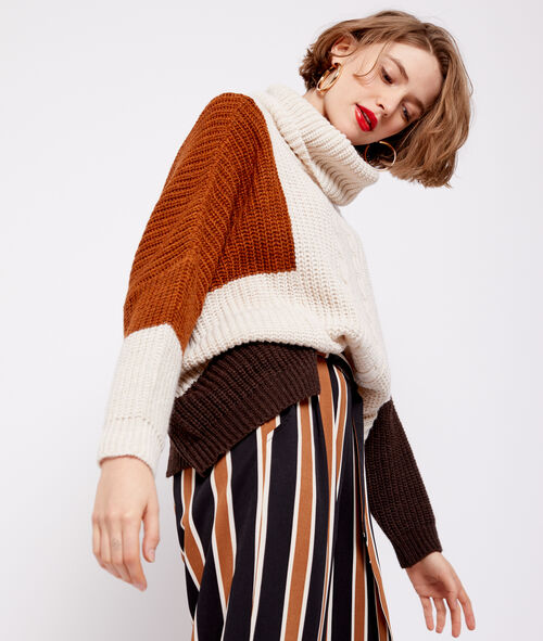 Oversize jumper in chunky knit