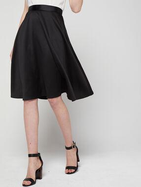 Midi skirt black.