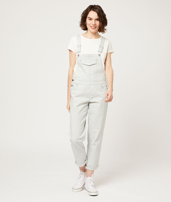 Dungaree in stripes