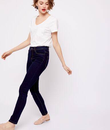 Slim jeans raw blue.