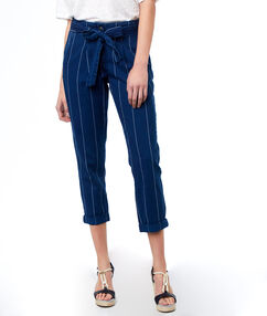 Pants raw blue.