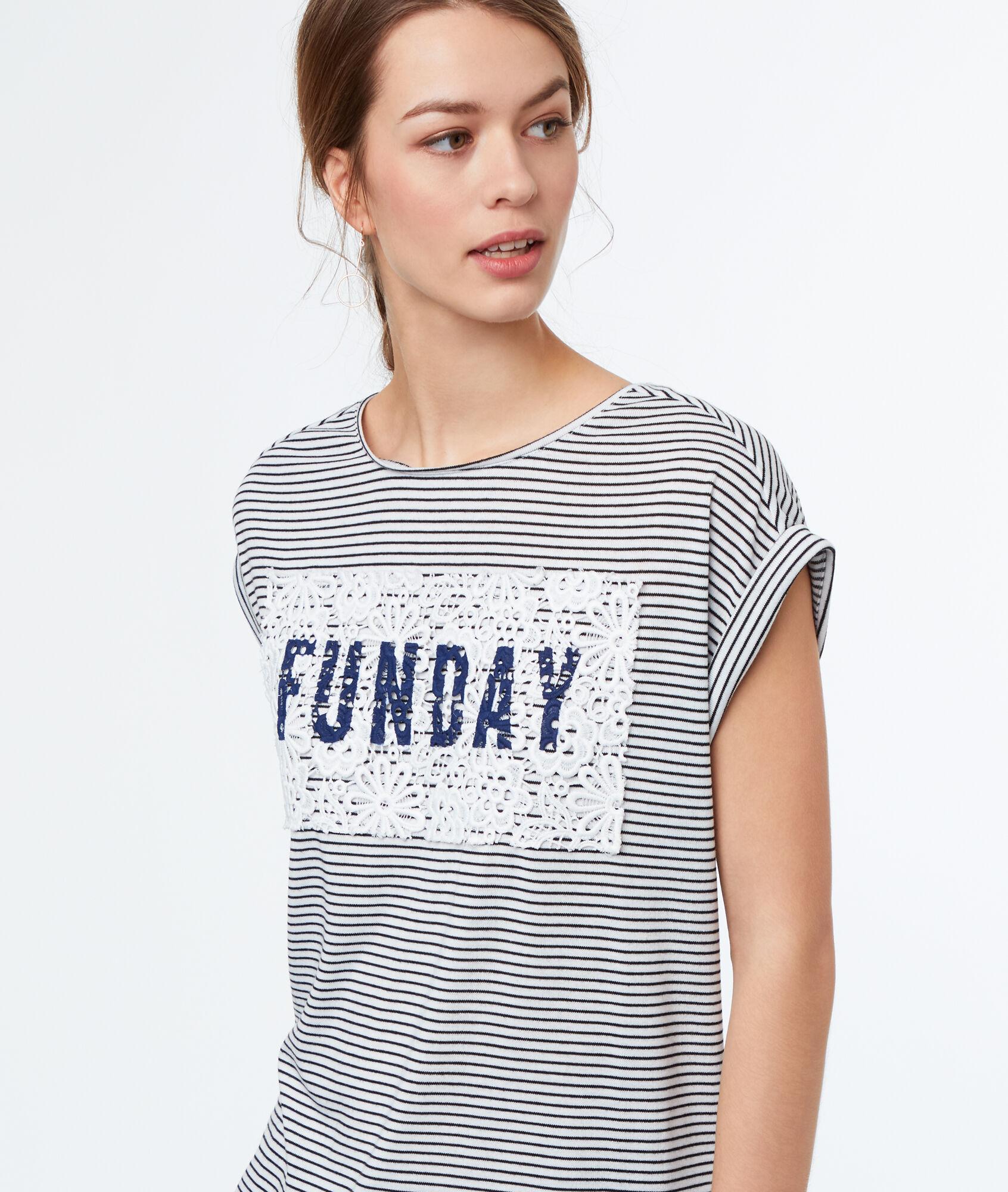 T-shirt à rayures ...