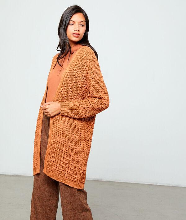 Maxi Italian knit cardigan
