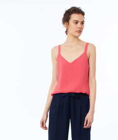 Camisole top coral.