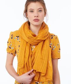 Plain scarf ocre.