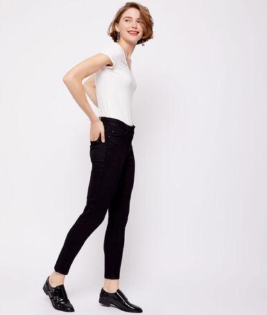 7/8-length slim-fit jeans black.
