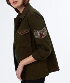 Utility jacket khaki.