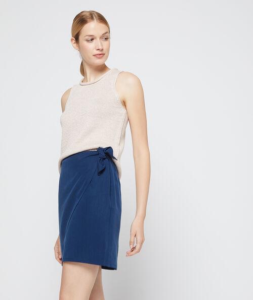 Tencel® wrap skirt