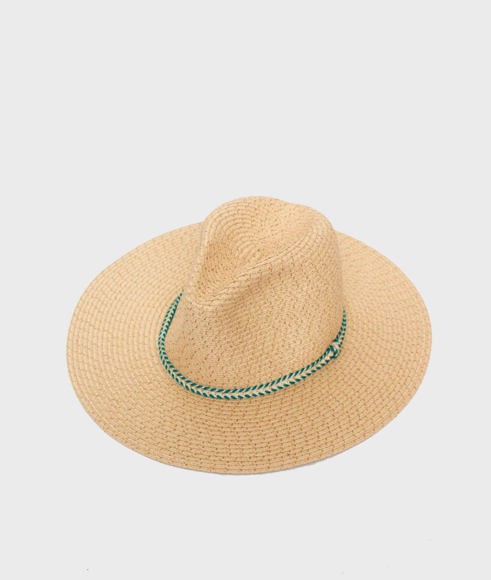 Chapeau de paille - LUREX - ÉCRU - Etam 2e6ab321125e