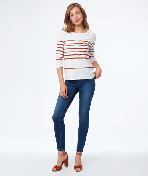 Breton top in cotton