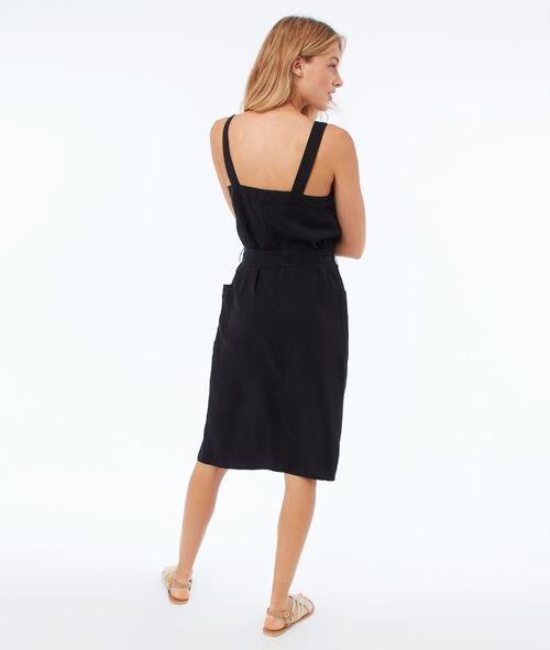 Tencel® button-down dress