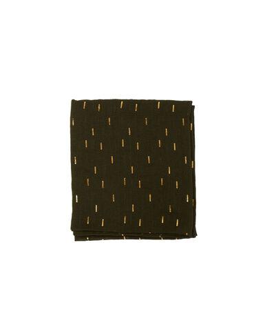 Printed scarf olive.