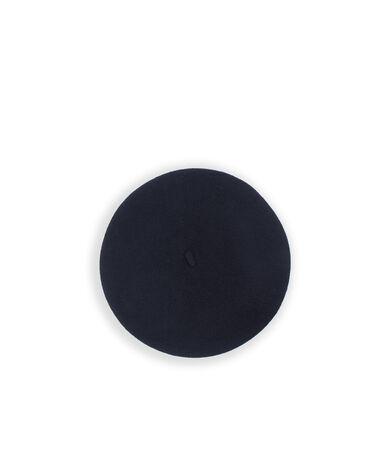 Beret 100% laine noir.