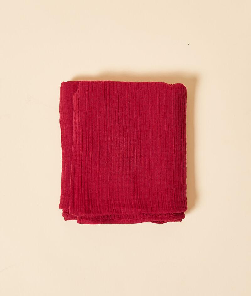 Cotton gauze scarf