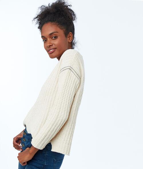 Side stripe jumper