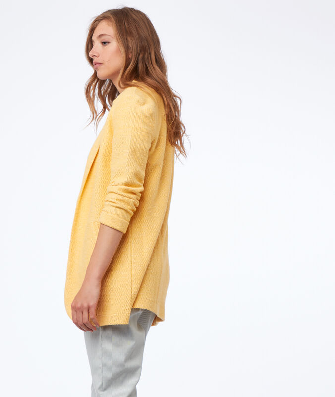 Blazer mimosa yellow.