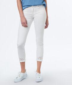 Slim pants off-white.