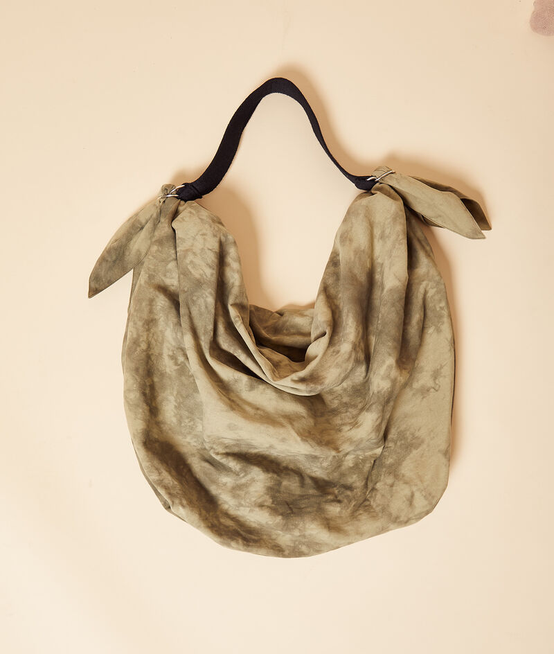 Sac besace tie and dye