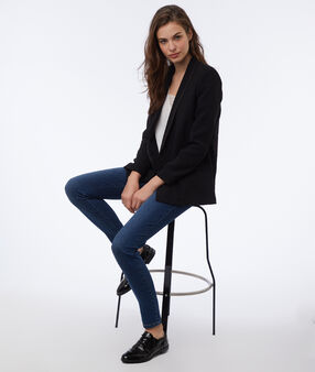 Shawl collar blazer black.