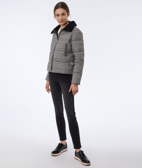 Prince of wales puffer jacket